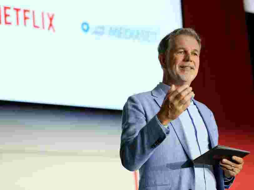 Netflix augmente le prix de deux de ses formules d'abonnement aux Etats-Unis