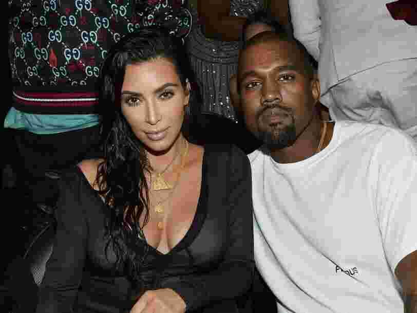 Kanye West a offert à Kim Kardashian un hologramme de son défunt père pour son anniversaire