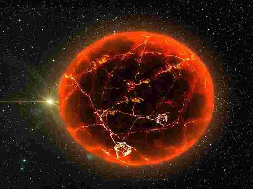 Sur cette exoplanète 'de l'enfer', il pleut de la lave au-dessus d'océans de magma