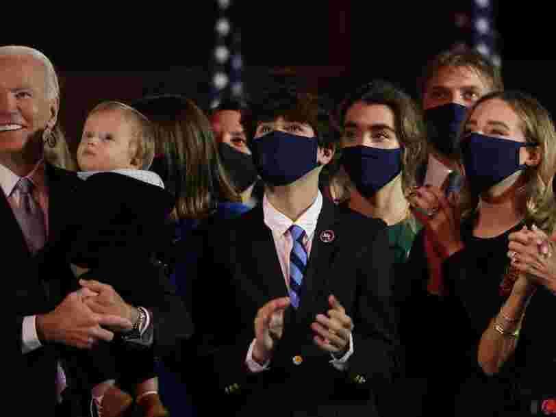 On vous présente la famille de Joe Biden, nouveau président des États-Unis