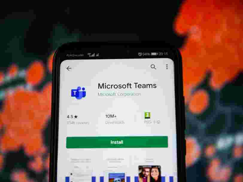 Microsoft verse des primes à ses salariés pour que l'appli Teams l'emporte sur Zoom et WebEx