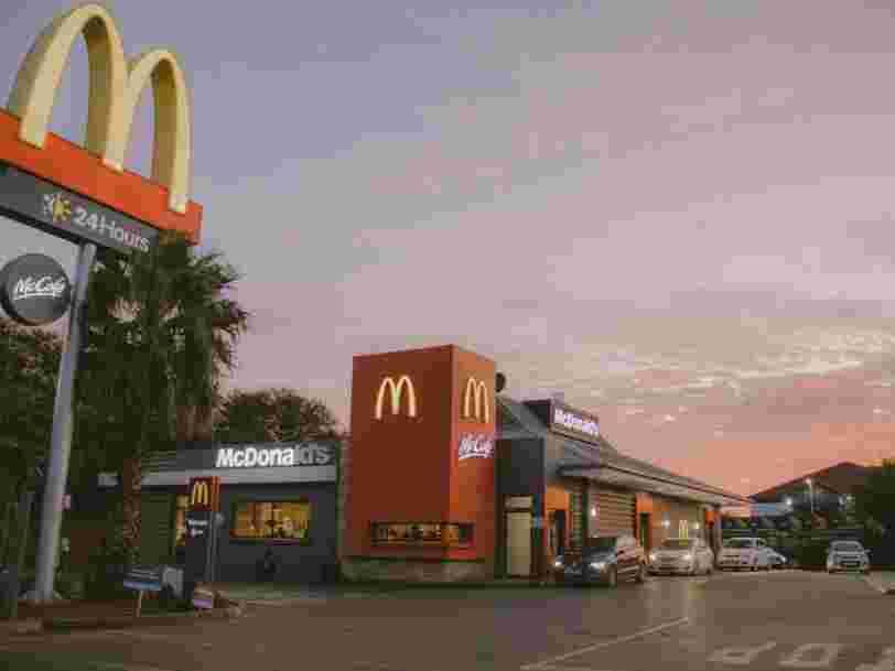 McDonald's lance sa propre gamme de produits végétariens appelée 'McPlant'
