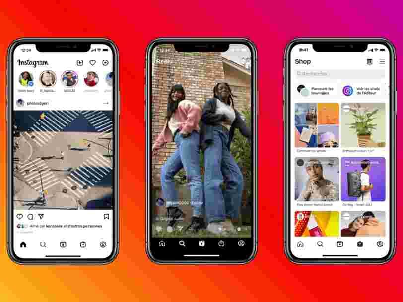 Instagram va changer son interface pour mettre en avant les Reels et les Boutiques