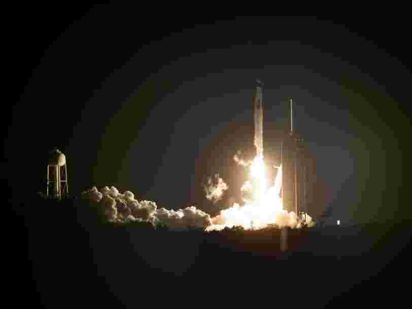 Décollage réussi pour la mission de la NASA et de SpaceX vers l'ISS