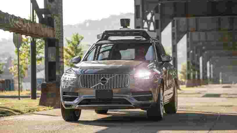 Uber pourrait vendre sa division de véhicules autonomes à une startup dirigée par des anciens d'Uber, Tesla, et Google