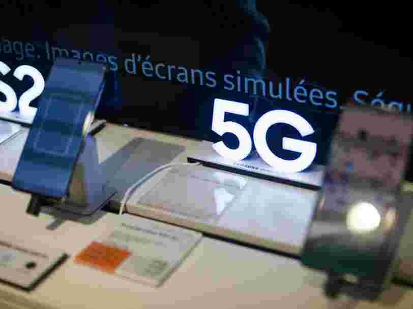 Voici le prix des forfaits 5G chez Free, SFR, Orange, Bouygues et B&You