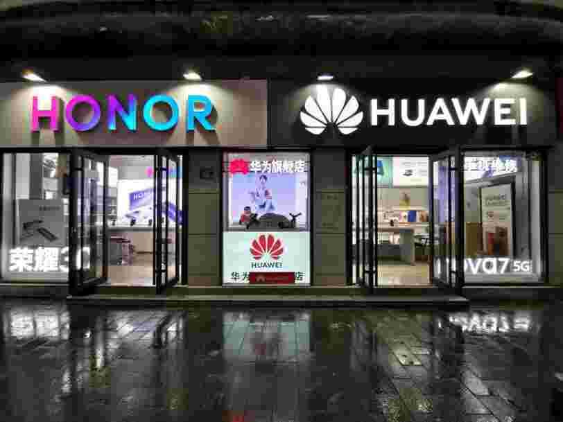 Huawei a vendu sa marque de smartphones Honor pour faire face aux sanctions américaines
