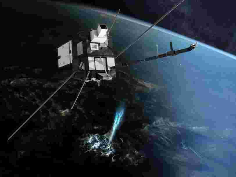 Arianespace a perdu son satellite Taranis 8 minutes après son lancement seulement