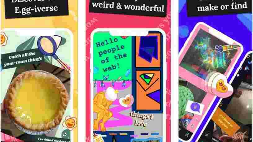Facebook lance E.gg, une appli qui permet de créer des 'espaces personnalisés' aux airs de page Tumblr