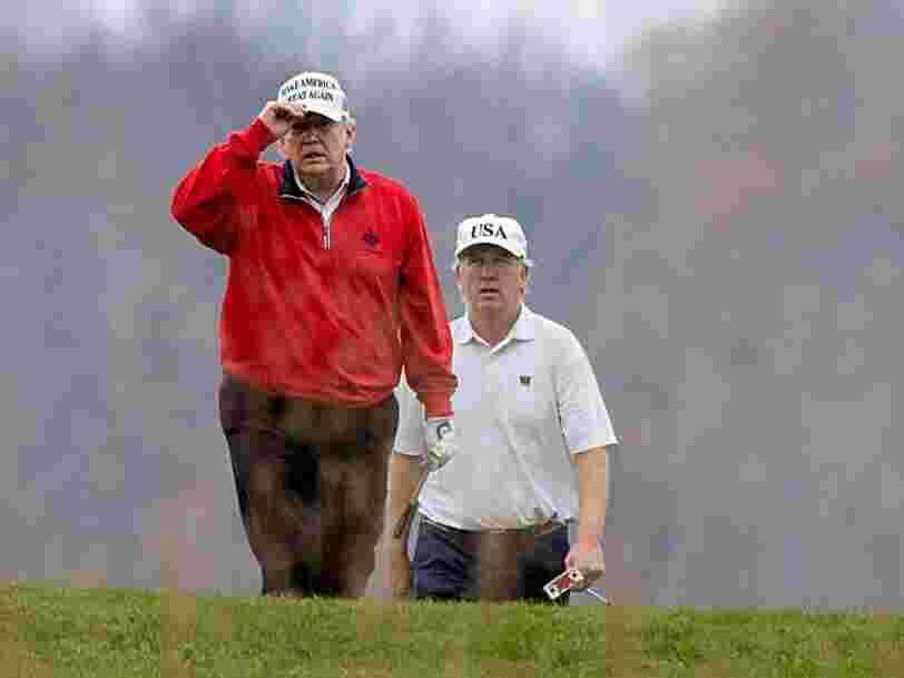 Donald Trump esquive une réunion du G20 sur la pandémie pour jouer au golf