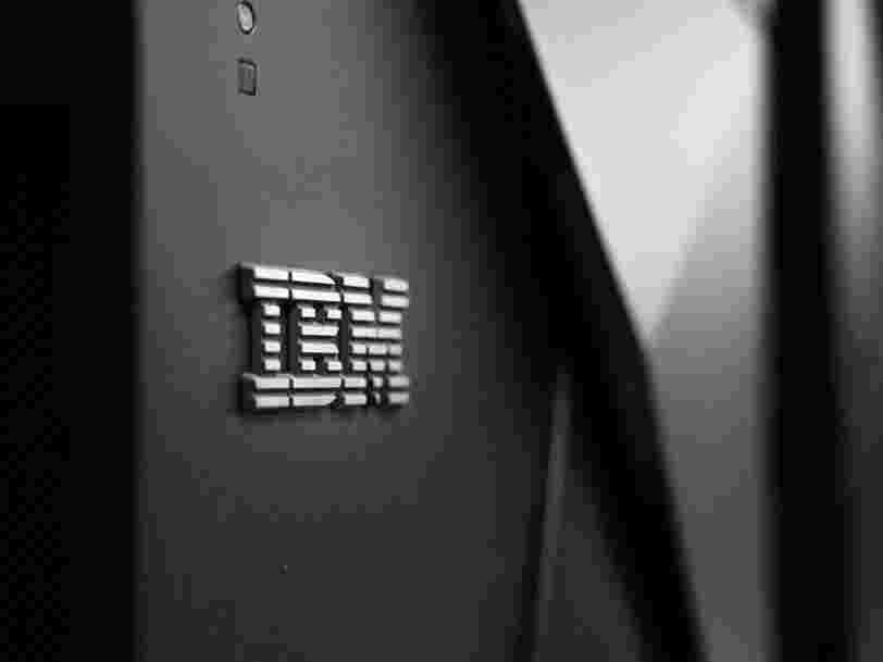 IBM prévoit de supprimer un quart de ses effectifs en France