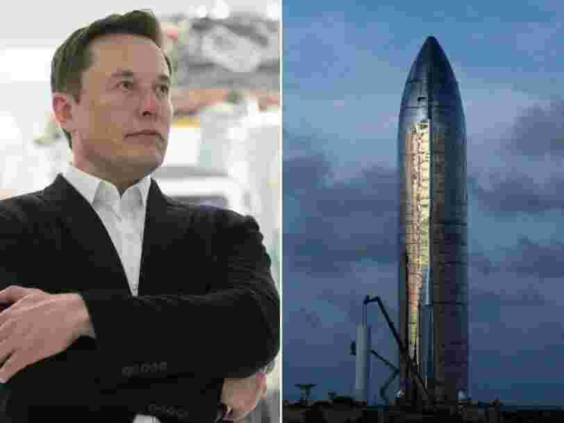 Starship, la fusée géante de SpaceX, effectuera son premier test en haute altitude la semaine prochaine