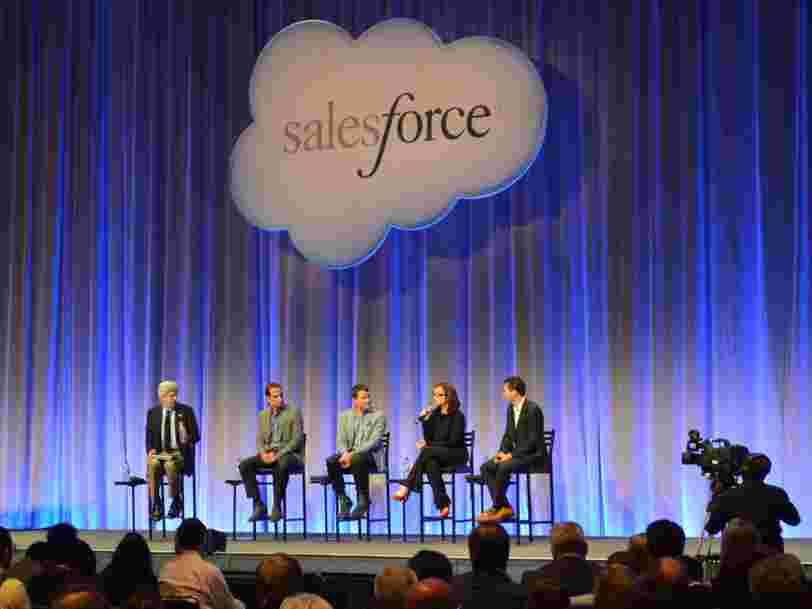 Salesforce rachète Slack 27,7 Mds$ pour mieux concurrencer Microsoft