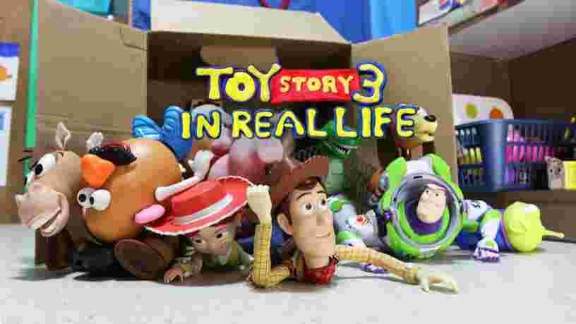 Ces deux frères ont recréé 'Toy Story 3' en entier avec des jouets et de l'animation en stop motion