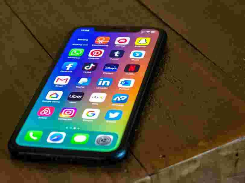 Voici les 15 applis gratuites pour iPhone les plus téléchargées en 2020 par les Français