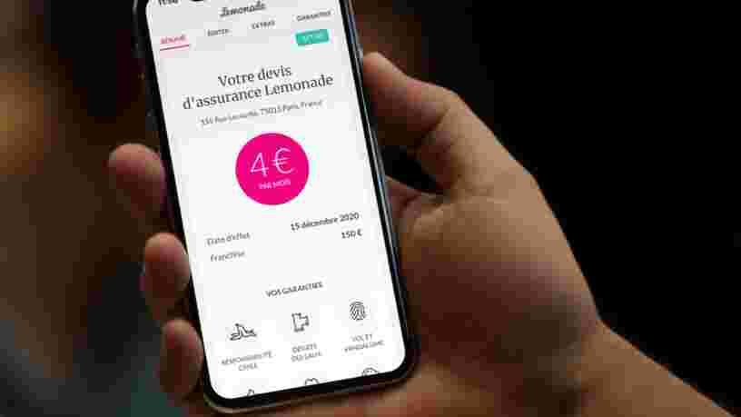 L'assurance habitation Lemonade débarque en France avec la promesse de remboursements instantanés