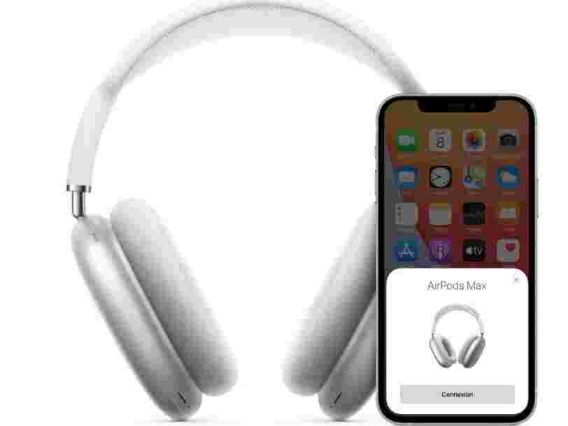 Apple dévoile les AirPods Max, son premier casque audio à 629€