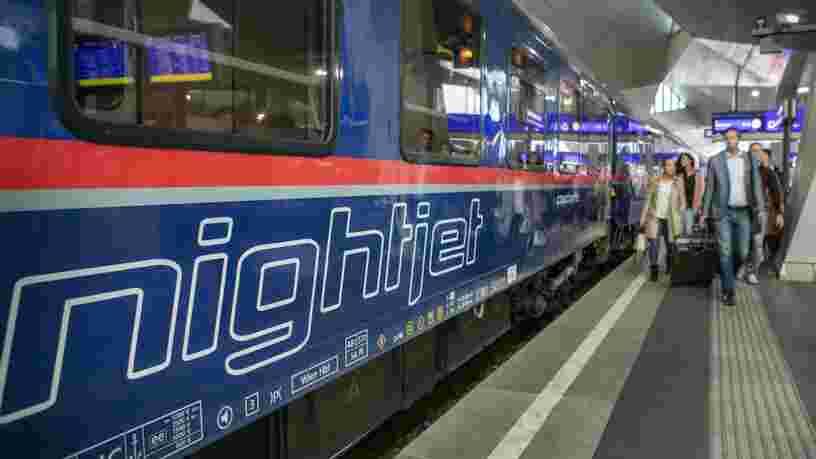 Des trains de nuit vont permettre de rejoindre l'Allemagne et l'Autriche depuis Paris dès 2021