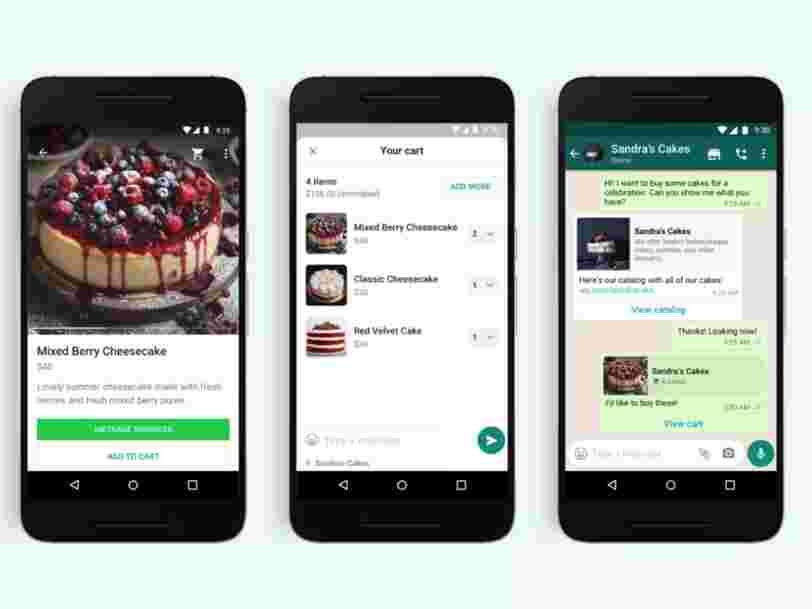 WhatsApp se met au shopping en ligne avec la nouvelle fonction 'paniers'