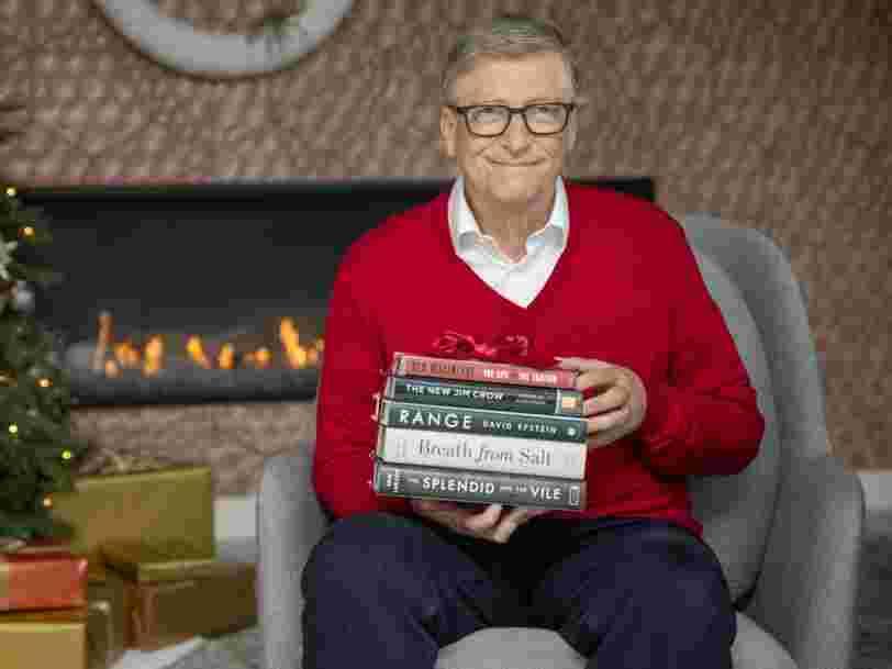 Voici les 5 livres que Bill Gates a préférés en 2020