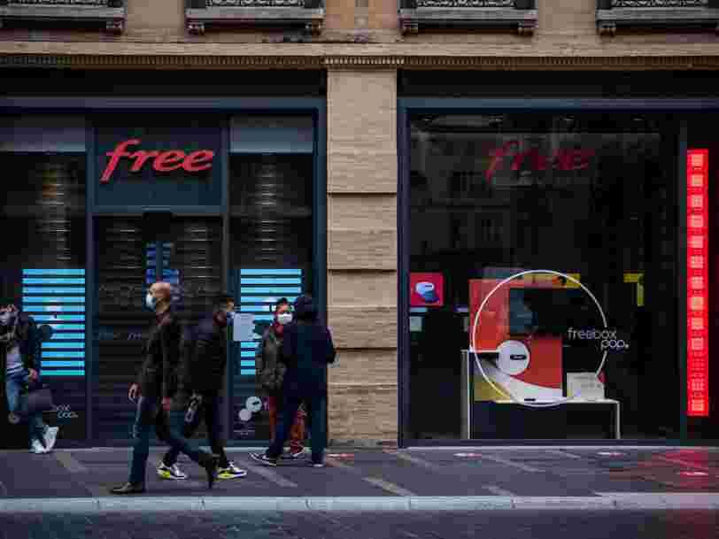 Free lance son réseau 5G sans hausse de prix pour les abonnés
