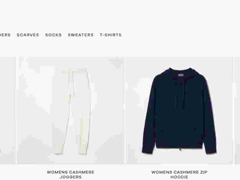 H&M lance 'Singular Society', une marque de vêtements sur abonnement à la Netflix