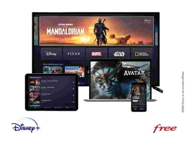Free devient le premier opérateur à proposer Disney+ directement sur certaines de ses box