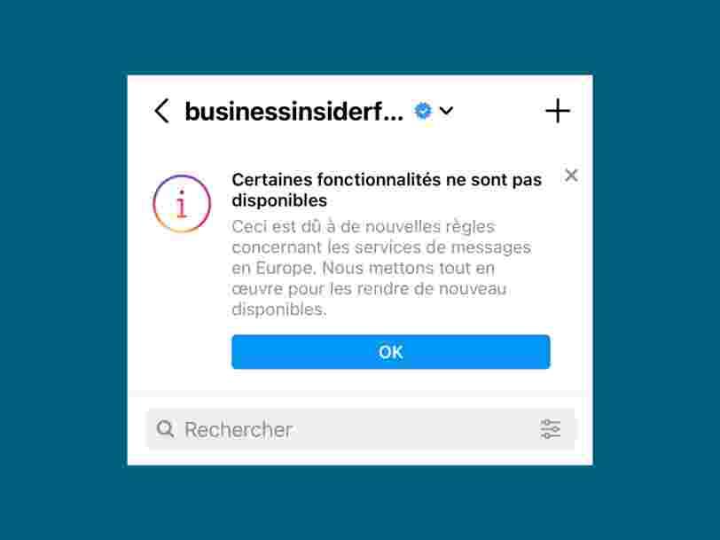 Pourquoi vous n'avez plus accès à certaines fonctionnalités sur Instagram et Messenger