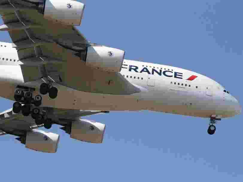 Air France prolonge l'annulation sans frais de ses billets d'avion jusqu'en septembre 2021
