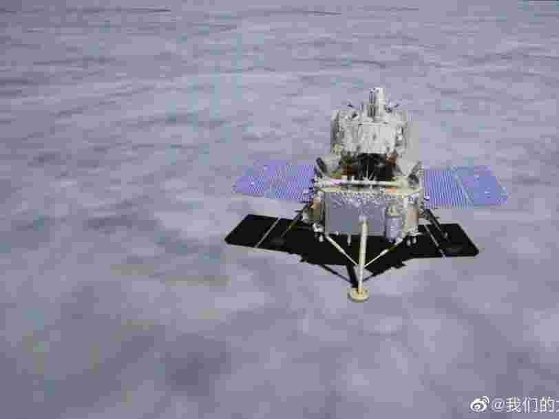 Un vaisseau chinois a ramené sur terre des pierres lunaires pour la première fois depuis 1976