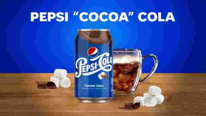 Pepsi va lancer une boisson qui mélange les goûts du cola, du cacao et de la guimauve