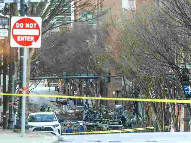 L'ADN d'un homme de 63 ans a été retrouvé sur les lieux de l'attentat de Nashville