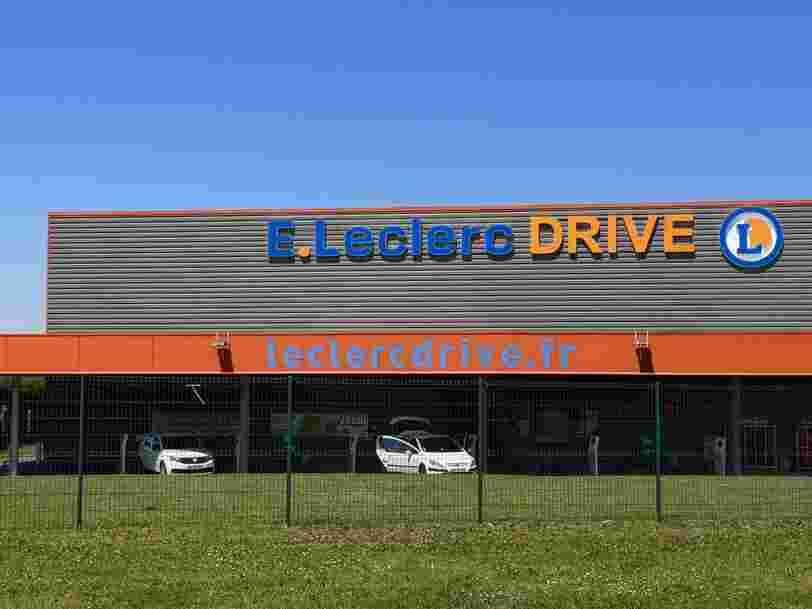 Leclerc, Intermarché... Les grands gagnants de l'explosion du drive en 2020