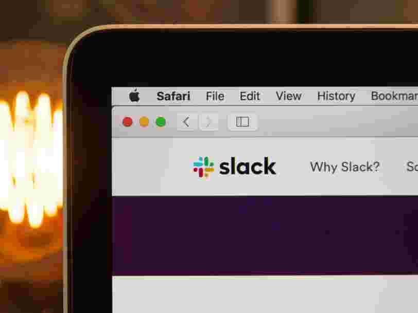 Le service de messagerie Slack est en panne dans le monde entier