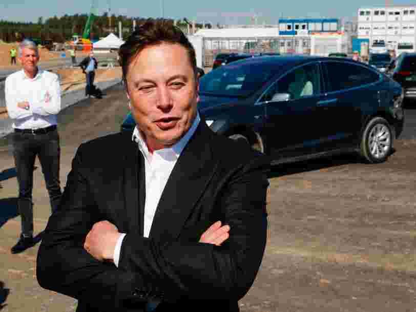 Tesla a manqué de peu son objectif de livrer un demi-million de véhicules en 2020