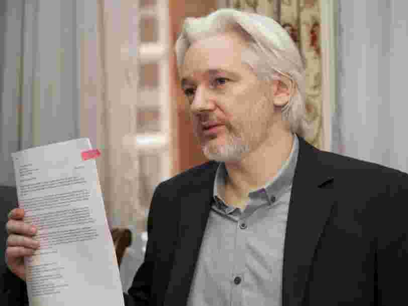 La justice britannique s'oppose à l'extradition de Julian Assange vers les Etats-Unis
