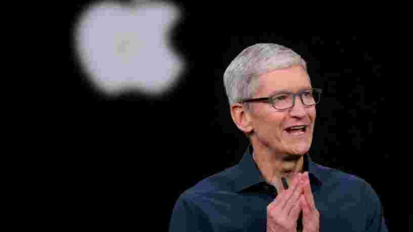 Le salaire de Tim Cook a augmenté de près de 30% en 2020 alors qu'Apple a prospéré durant la pandémie