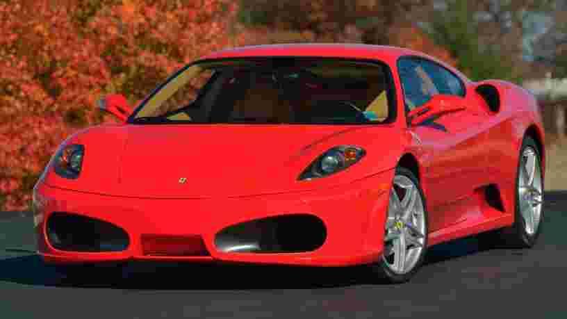 Voici l'ancienne Ferrari de Donald Trump qui sera vendue aux enchères avant la fin de son mandat