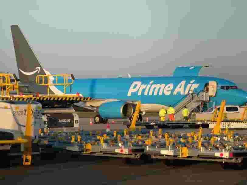 Face à l'explosion des ventes en ligne, Amazon achète ses propres avions cargos pour assurer ses livraisons