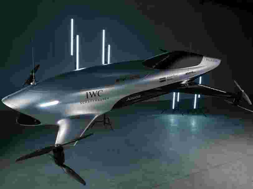 Voici Airspeeder, la startup qui veut organiser des courses de voitures volantes dans un futur proche
