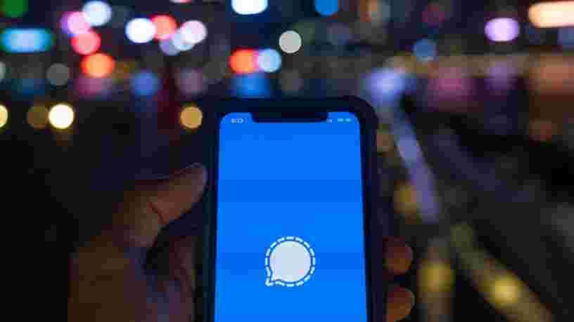 L'appli de messagerie Signal, vantée par Elon Musk, voit son nombre d'utilisateurs augmenter