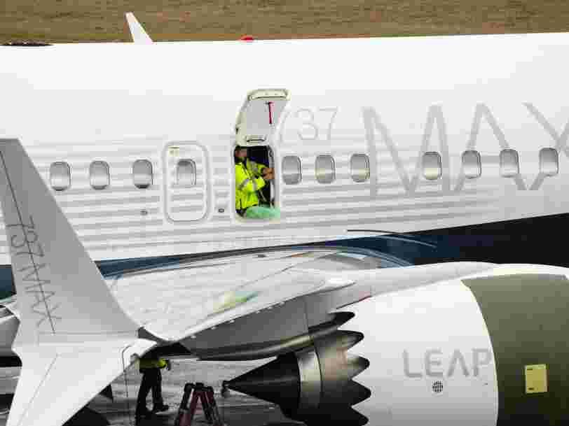 Accusé de fraude, Boeing va verser 2,5 Mds$ pour régler la crise liée au 737 MAX