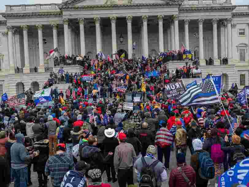 Des chefs d'entreprises licencient des employés qui ont pris d'assaut le Capitole