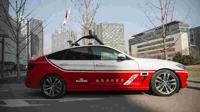 Baidu, le 'Google chinois', et Geely s'associent pour construire des voitures électriques autonomes