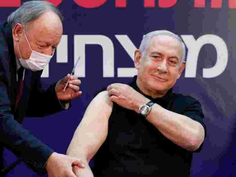 Israël prévoit de vacciner la totalité de sa population d'ici fin mars
