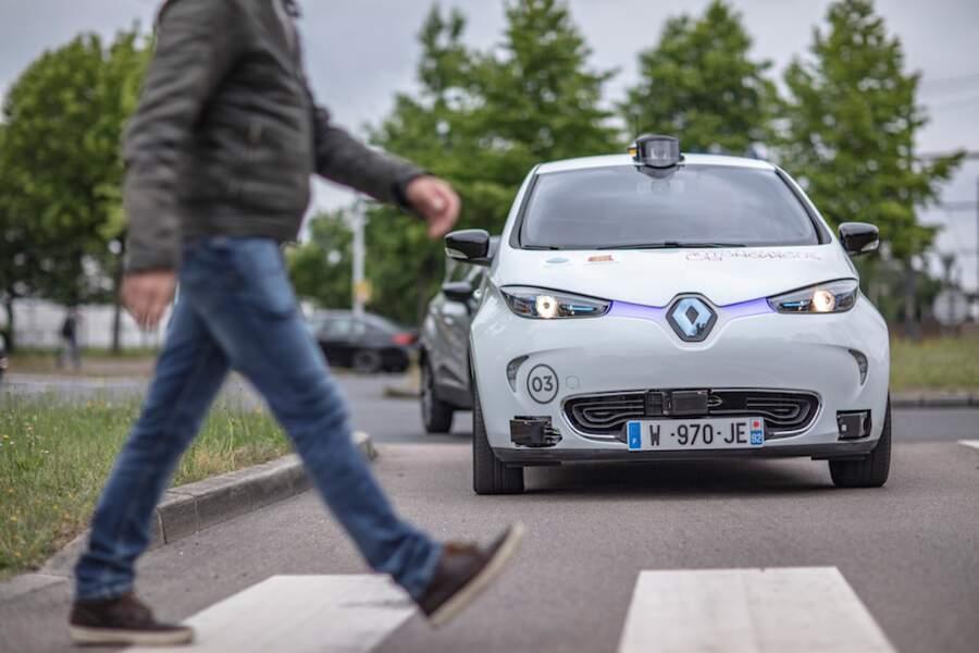 """""""Transdev"""", une flotte de véhicules autonomes"""
