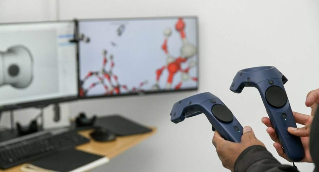 """""""nanoRêve"""", un dispositif de réalité virtuel pour naviguer au coeur des molécules"""
