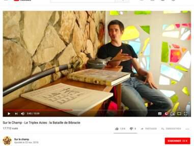 Suivez un cours d'histoire sur Youtube