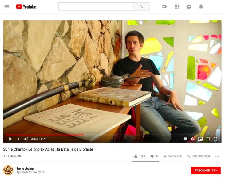 Quentin Censier : Sur le champ, 61 100 abonnés