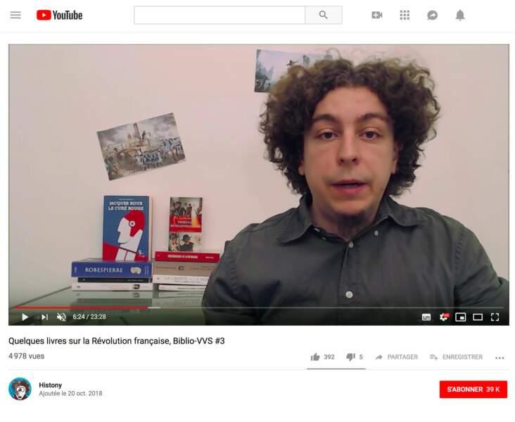 Antoine Resche : Engagé dans la Révolution, 39 703 abonnés